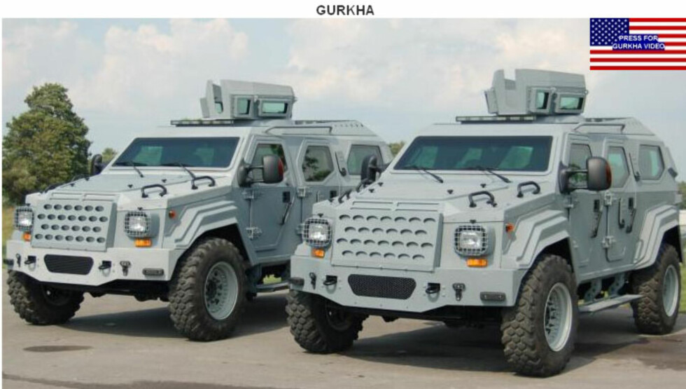 Armet Gurkha Foto: Armet Armored Vehicles