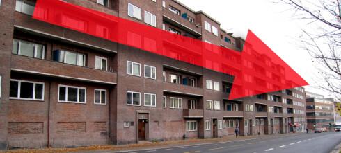 Leieprisene faller i Oslo