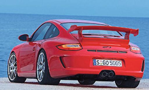 Porsche 911 Carrera (her en GT3)