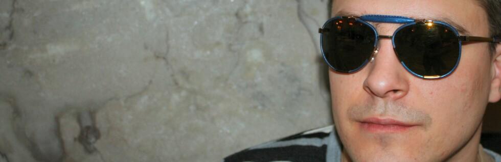 Pilotinspirerte solbriller er et hett tips for gutta i år. Foto: Stine Okkelmo