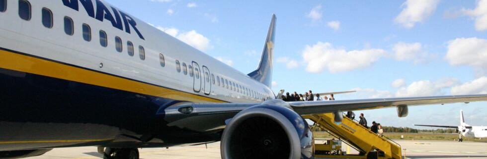 Ryanair nye regler som forbyr taxfree-pose trådde i kraft 1. januar. Foto: Patrick Nijhuis