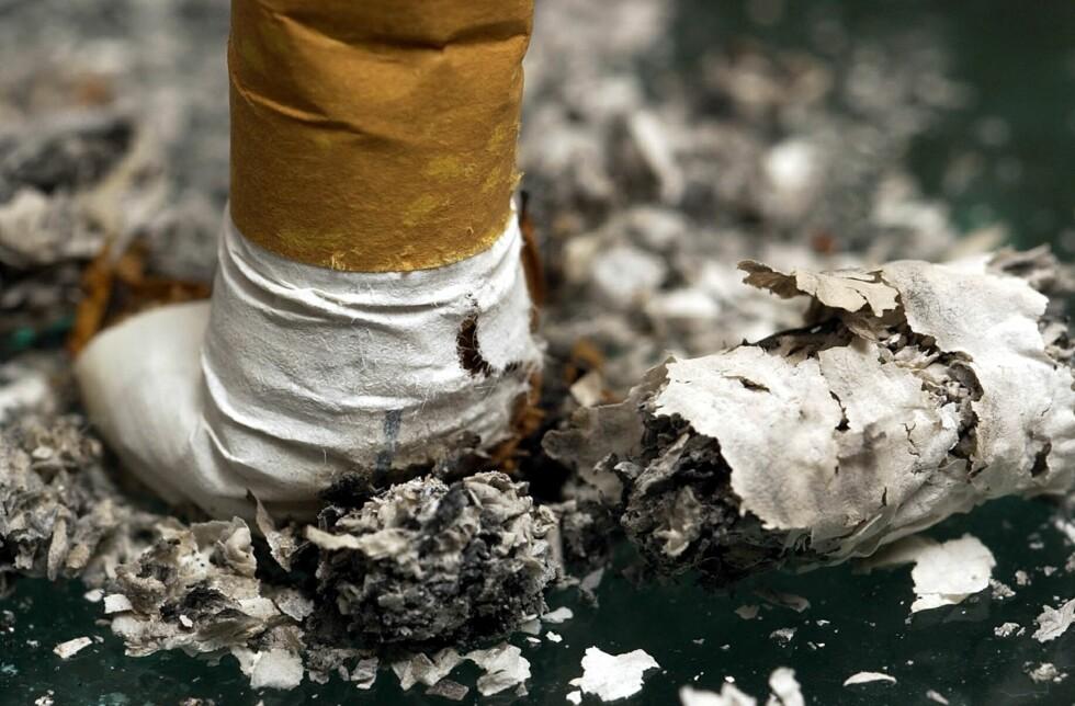 Mange nordmenn har stumpet røyken, viser nye statistikk. Foto: colourbox.com