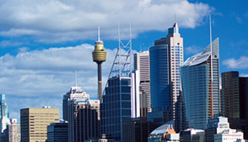 Sydney skyline.  Foto: sxc.hu