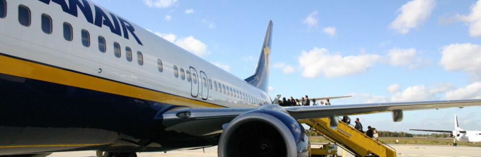 Ryanair åpner ny rute til Alicante i Spania til sommeren. Foto: Patrick Nijhuis