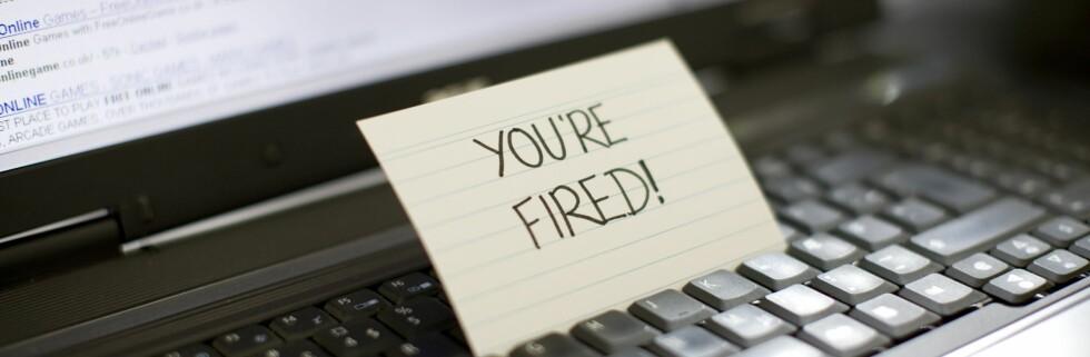 Pass deg for hva du bedriver tiden på jobben din med. Foto: colourbox.com