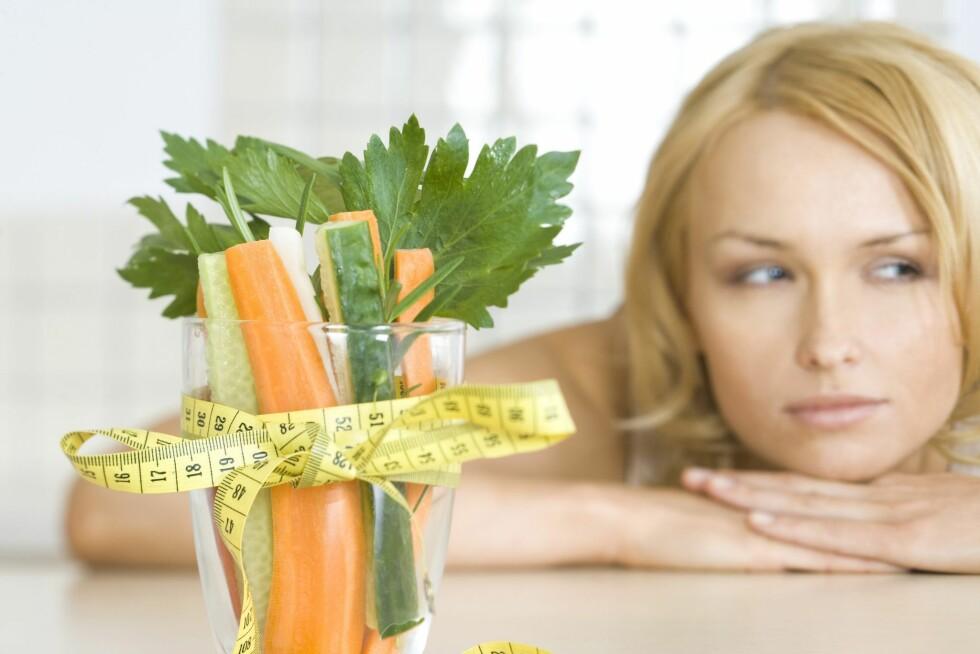 Færre kalorier letter ikke bare kroppen - det skjerper også hukommelsen, ifølge tysk studie. Foto: Colourbox