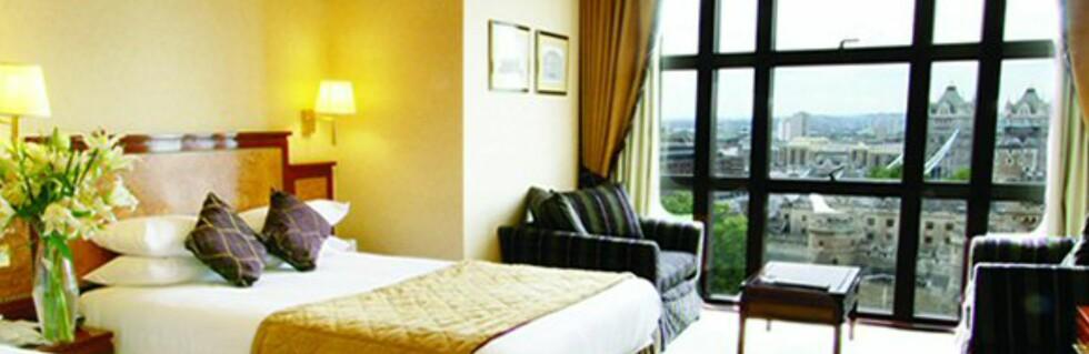 Femstjernershotellet Grange City Hotel tilbyr dobbeltrom til 790 kr natten. Foto: Grange Hotels