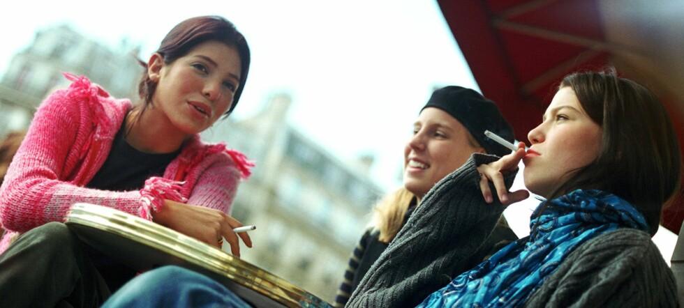 De fleste angrer på at de tok sin første sigarett. Foto: Colourbox