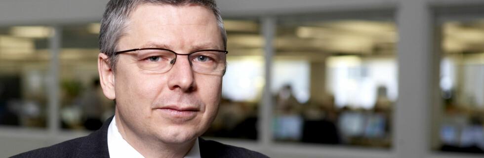 Senioranalytiker Erik Bruce i Nordea tror styringsrenten skal ned mot 1-tallet innen sommeren. Foto: Nordea