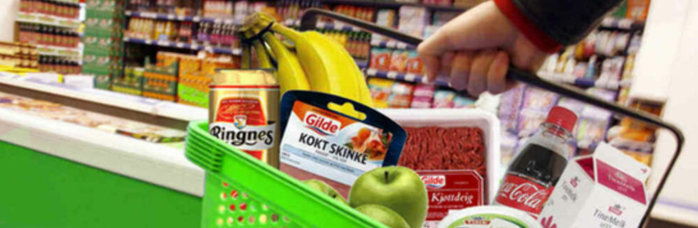Noen av disse matvarene blir dyrere nå. Foto: Per Ervland