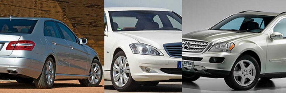 Mercedes med flere hybrider på vei