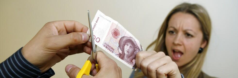 Ikke gi bort unødvendig mye penger til banken din. Foto: Per Ervland
