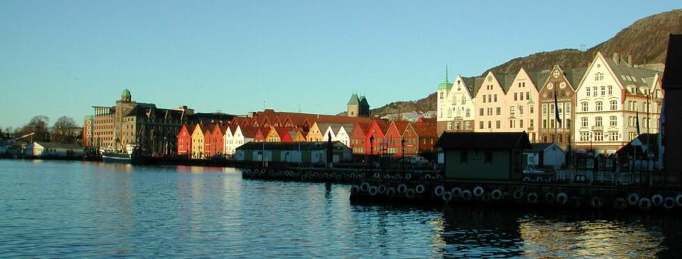 "Bergen er inngangsporten til Fjord-Norge, som ""alle"" utlendinger vil se. Foto: DinSide"