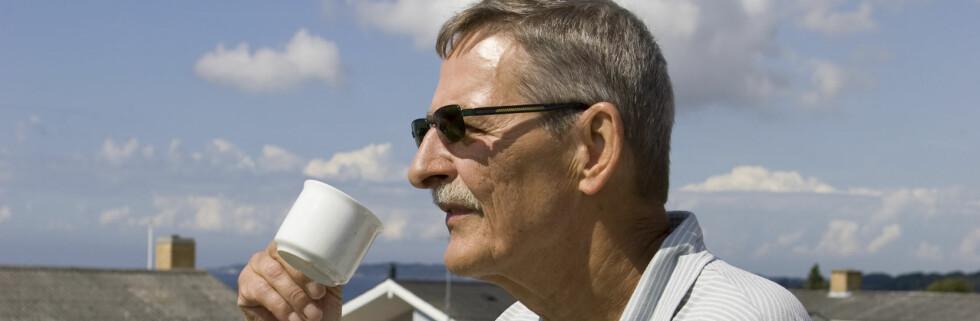 De daglige kaffekoppene kan holde hjernen din frisk. Foto: colourbox.com