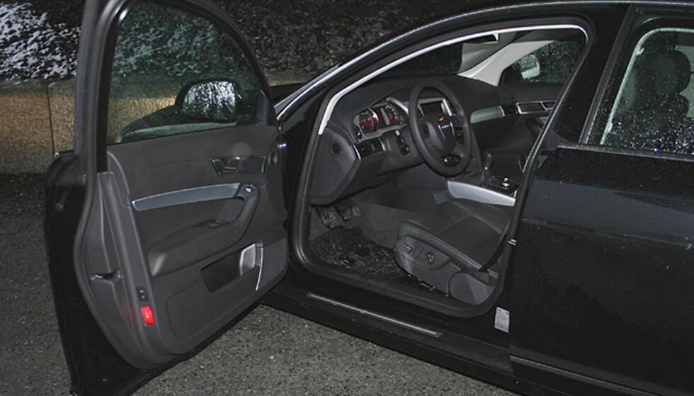 Audi A6 2.0 TDIe: Store interiørbilder