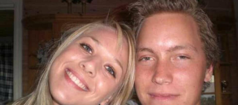 Helene Hansen (21) og Espen Hilsen (21) pusser opp leiligheten sin selv. De sparer flere tusen kroner. Foto: Nina Fredrikke Lehne