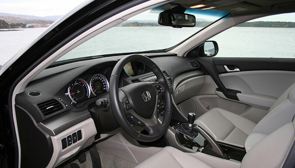 Store interiørbilder: Honda Accord Tourer 2.2 i-DTEC