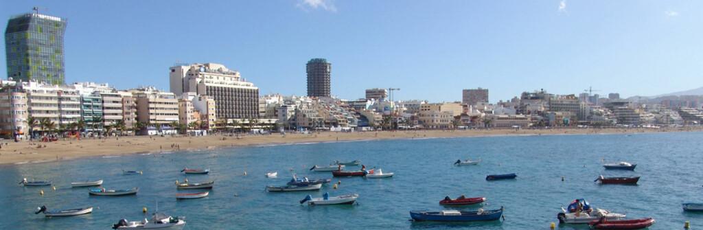 Gran Canaria forlbir en stor favoritt blant solhungrige nordmenn. Her fra Las Palmas.          Foto: Visitgrancanaria.no