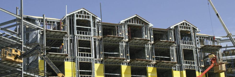 Forbrukerrådet ønsker å trygge rettighetene til dem som kjøper bolig på papiret, før den er ferdig. Foto: iStockphoto.com
