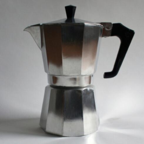 En enkel espressokanne for én får du fra rundt hundrelappen.  Foto: iStockphoto.com