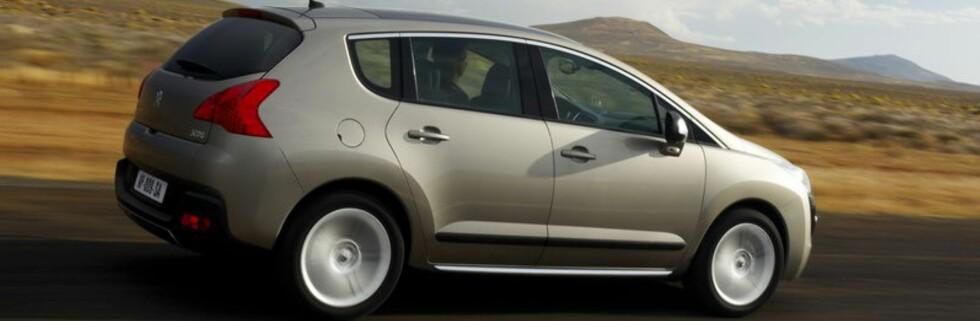 Peugeot 3008 - mer fleksibel