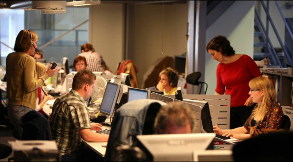 Å jobbe i apne kontorlandskap kan få store negative konsekvenser, viser ny forskning. Foto: Per Ervland