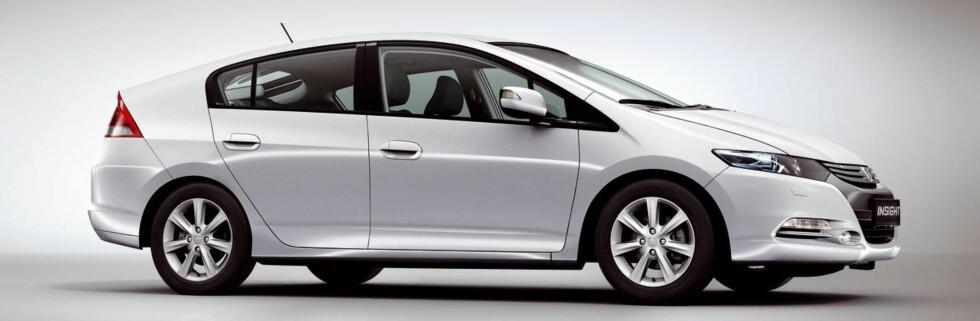Hondas hybridbil offisiell