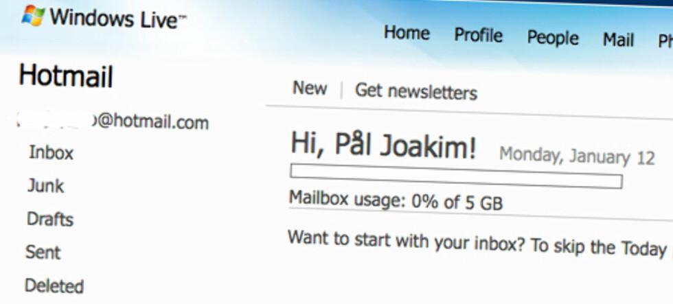 Hvor ble det av alle e-postene mine, Microsoft?