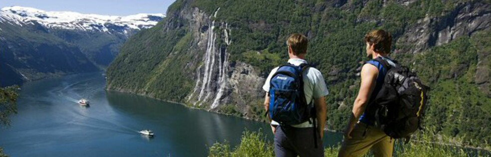 Geirangerfjorden er egnet til å imponere, men nok til å bli ett av verdens syv naturunderverk? Foto: Terje Rakke/Innovasjon Norge