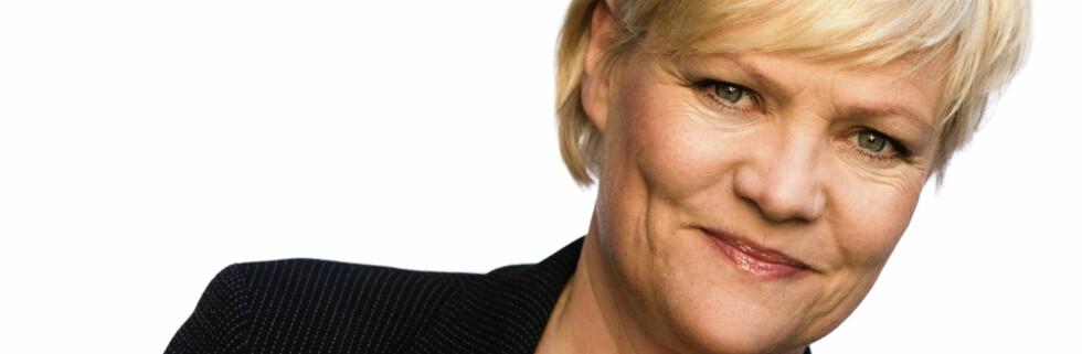 Finansminister Kristin Halvorsen Foto: Rune Kongsro