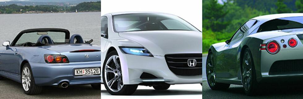 Honda dropper sportsbiler