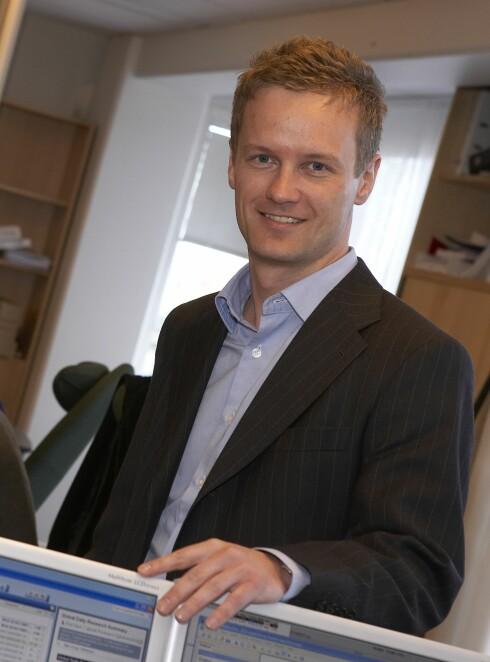 Bjørn Roger Wilelmsen, makroøkonom i First Securities
