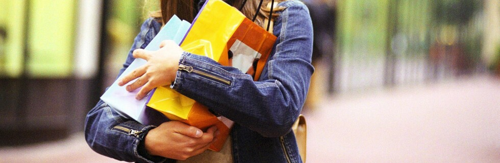 På denne måten ser ikke naboen at du har brukt penger på minkpels eller Manolo Blahnik-pumps. Foto: Colourbox.com