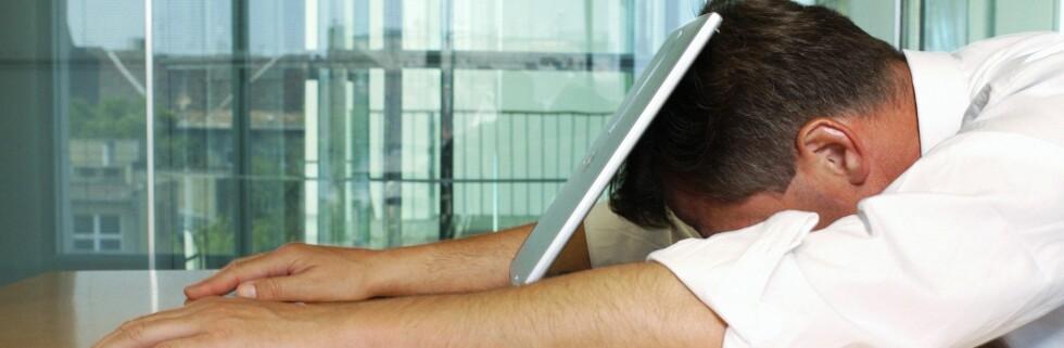 Tar jobben knekken på deg? Ta knekken på stresset ved hjelp av rådene i denne artikkelen. Foto: colourbox.com