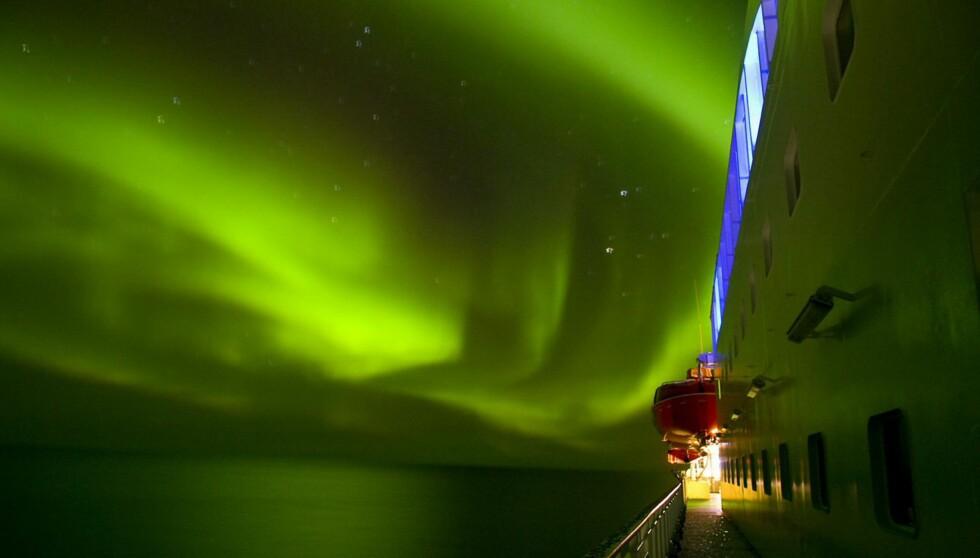 Hurtigruten har hatt god suksess med sin vintersatsing. Foto: Hurtigruten