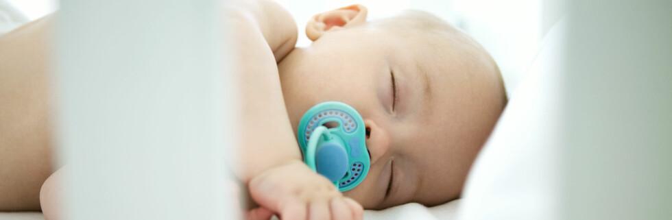 Om det lille nurket blir en gutt eller ei jente kan det være mannens gener som bestemmer. Foto: colourbox.com