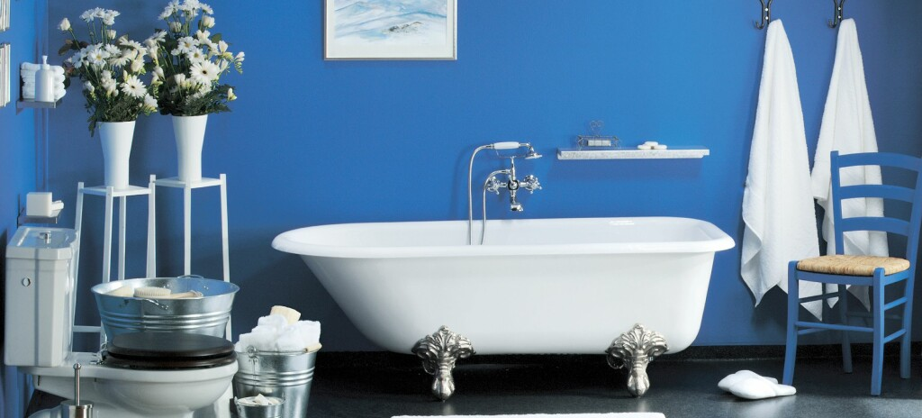 Fliser er ikke det eneste alternativet på våtrom. Du kan bruke både våtromspanel og maling.  Foto: Ifi.no