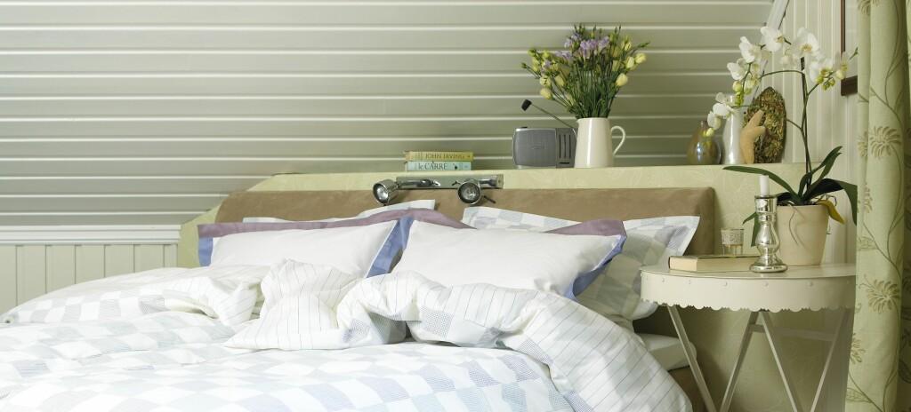 Lurer du på hvordan ditt soverom vil se ut med panel?  Foto: ifi.no