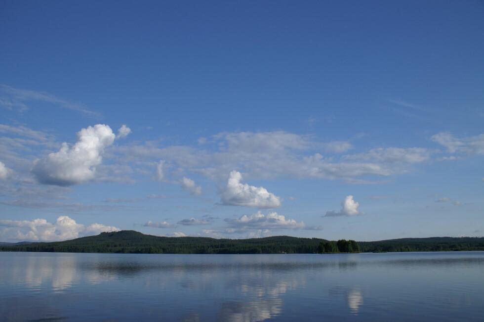 Et typisk landskapsbilde tatt uten filter. Foto: Arne Christian Jervell