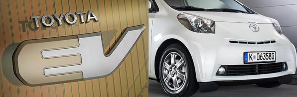 Muligens er det iQ som skal vises som elbil i konseptform
