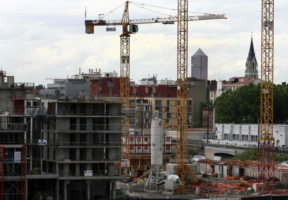 Nye boligprosjekter selger dårlig. Foto: Colourbox.com