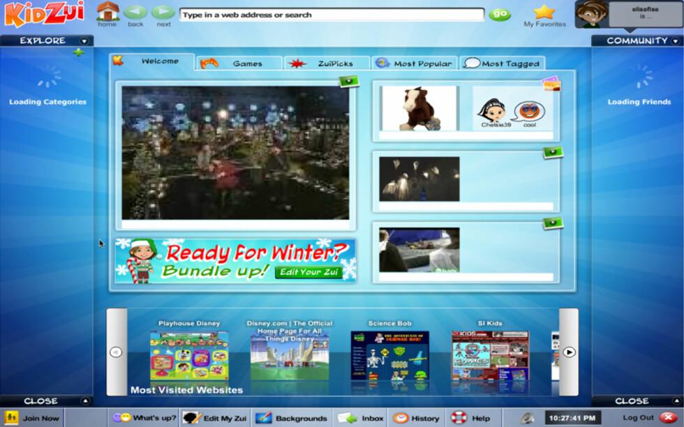 KidZui - en nettleser for barn