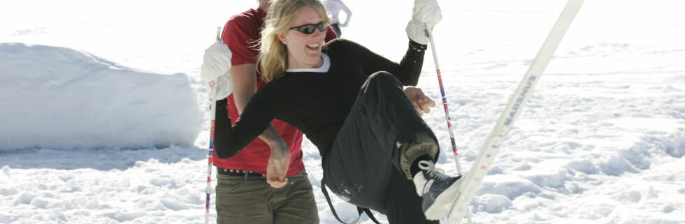 Kjenn dine begrensninger, og ikke legg ut på langtur første dagen med ski på beina ... Foto: Colourbox