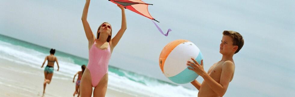 Drømmen om en strand er oppnåelig - spesielt i januar. Foto: Colourbox