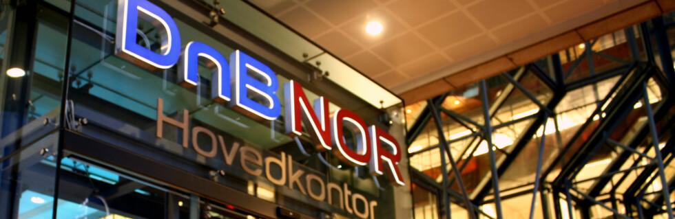 DnB NOR er bare en av storbankene som kan komme med raskt kutt etter dagens rentemøte. Foto: Kim Jansson
