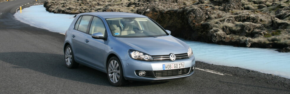 VW Golf med firehjulsdrift