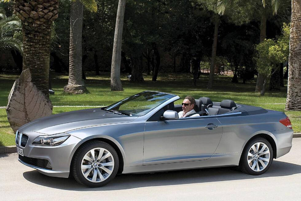 BMW 6-serie slik Automedia tror neste generasjon vil se ut. Bildet er manipulert. Foto: Automedia