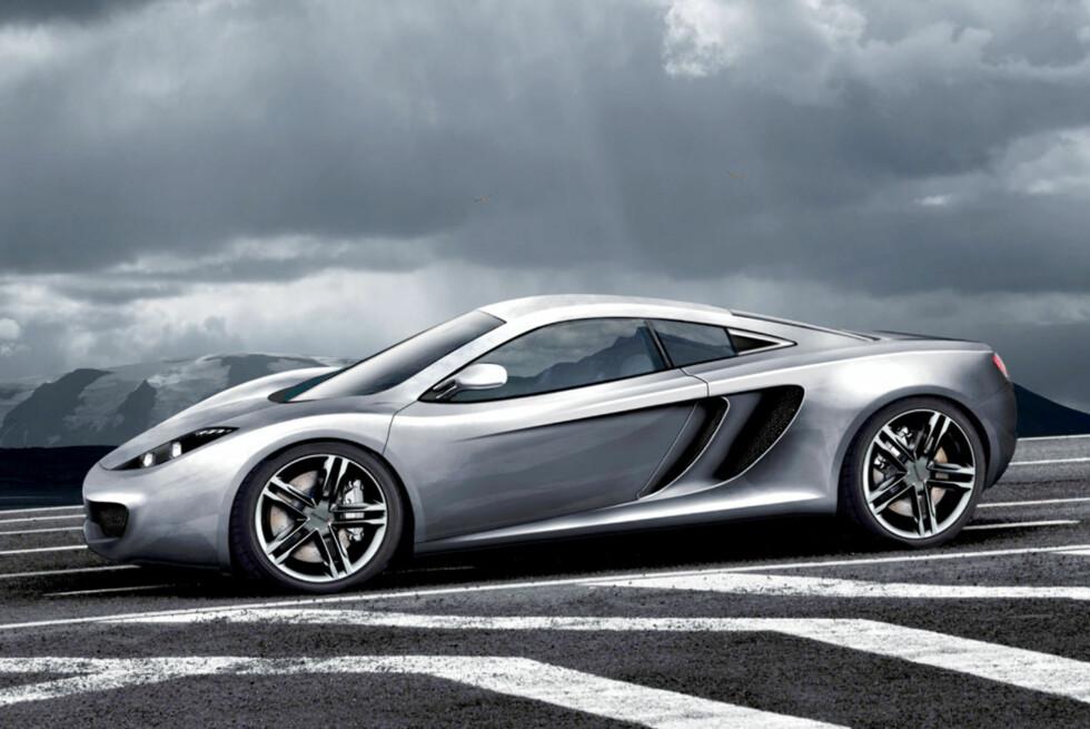 McLaren P11. Bildet er manipulert. Foto: Automedia