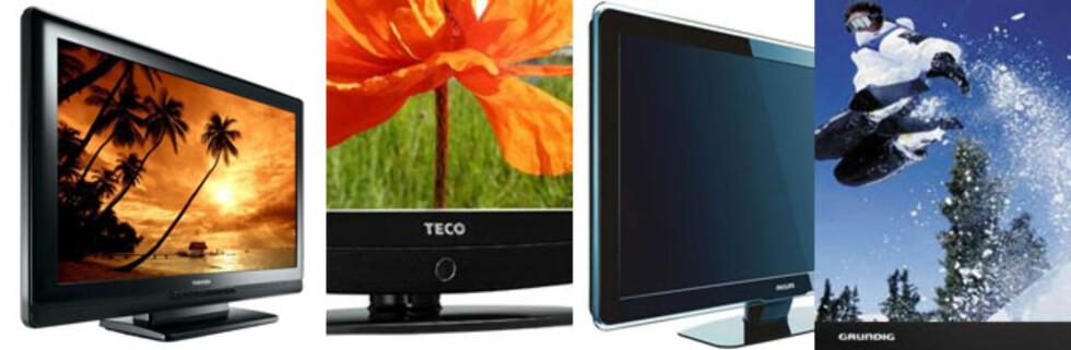 Budsjett-TVene du kan kjøpe nå