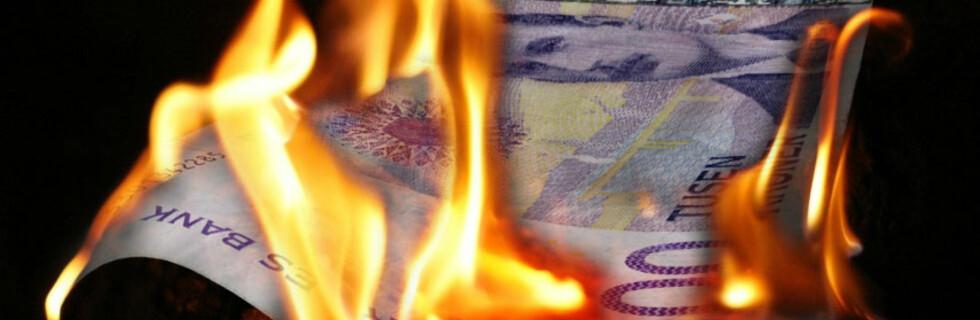 Om folk med god råd lå være å brenne av penger som de har gjort tidligere, vil vi virkelig få finanskrise. Det er budskapet til DnB NOR-sjef Rune Bjerke. Foto: Per Ervland